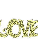 LOVE Geel Mozaiek pakket PREMIUM