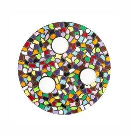Cristallo Mozaiek pakket Waxinelichthouder PREMIUM