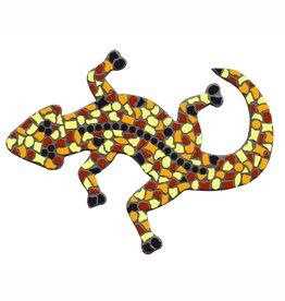 Mozaiek pakket Gekko Bruin-Oranje-Geel