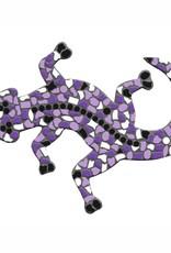 Cristallo Gekko Mozaiek pakket Wit-Paars-Violet