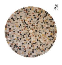 Mozaiek schaal Marmerstone