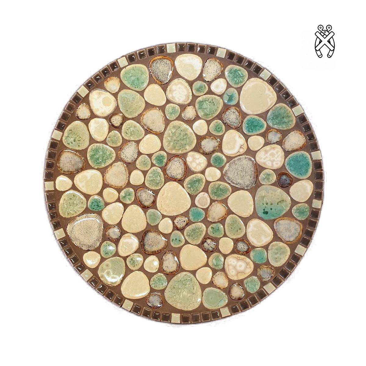 Mozaiek schaal Bubbles Retro Rock