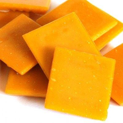 Mozaieksteentjes Oranje 2 x 2 cm
