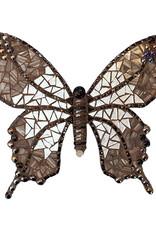 Mozaiekpakket Vlinder Withy Zwart/Zilver