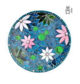 Mozaiek schaal Waterlilly