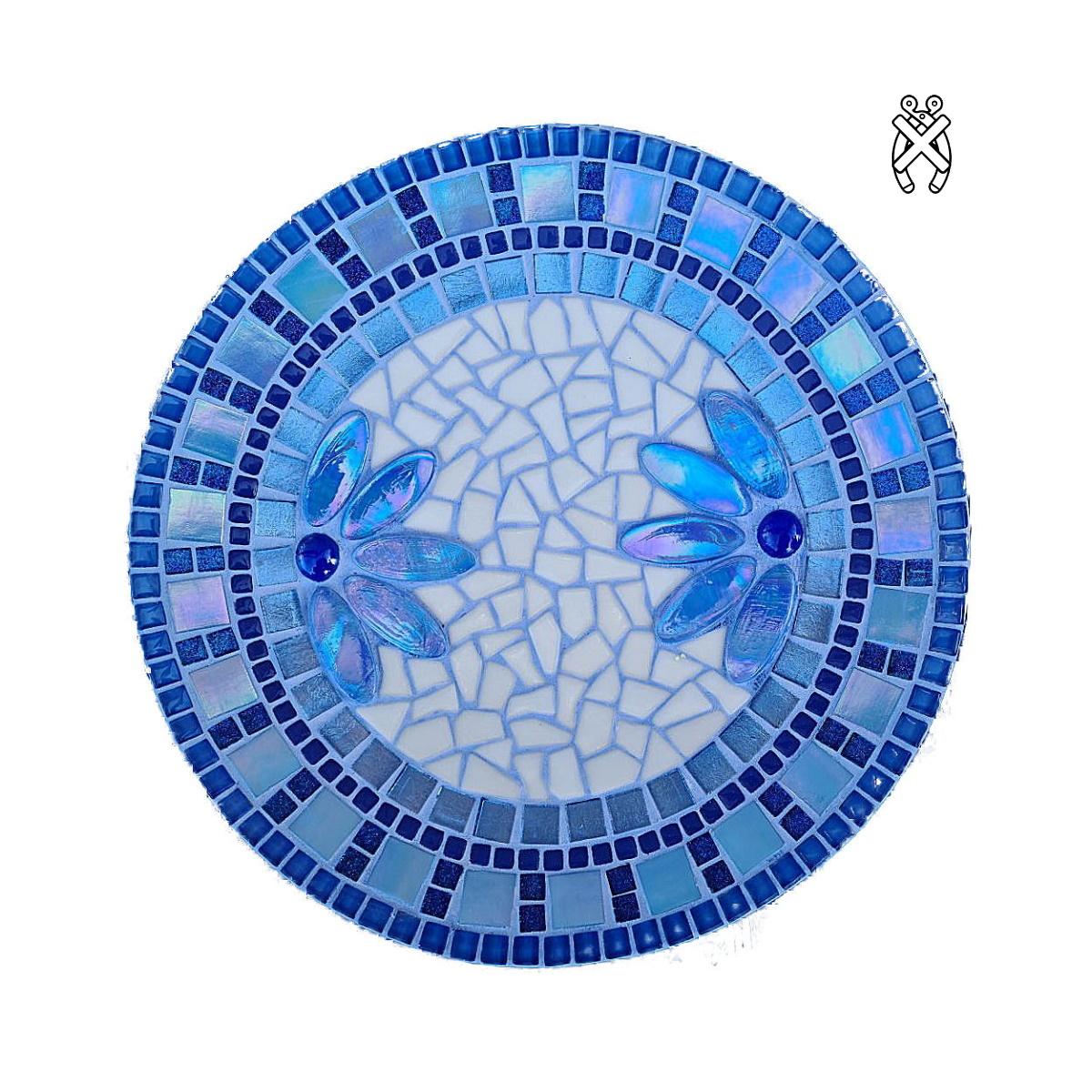 Mozaiek schaal Lotus Blauw