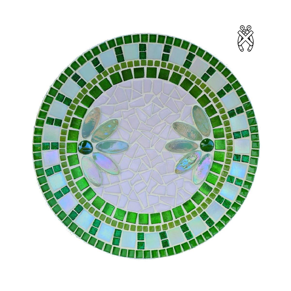 Mozaiek schaal Lotus Groen