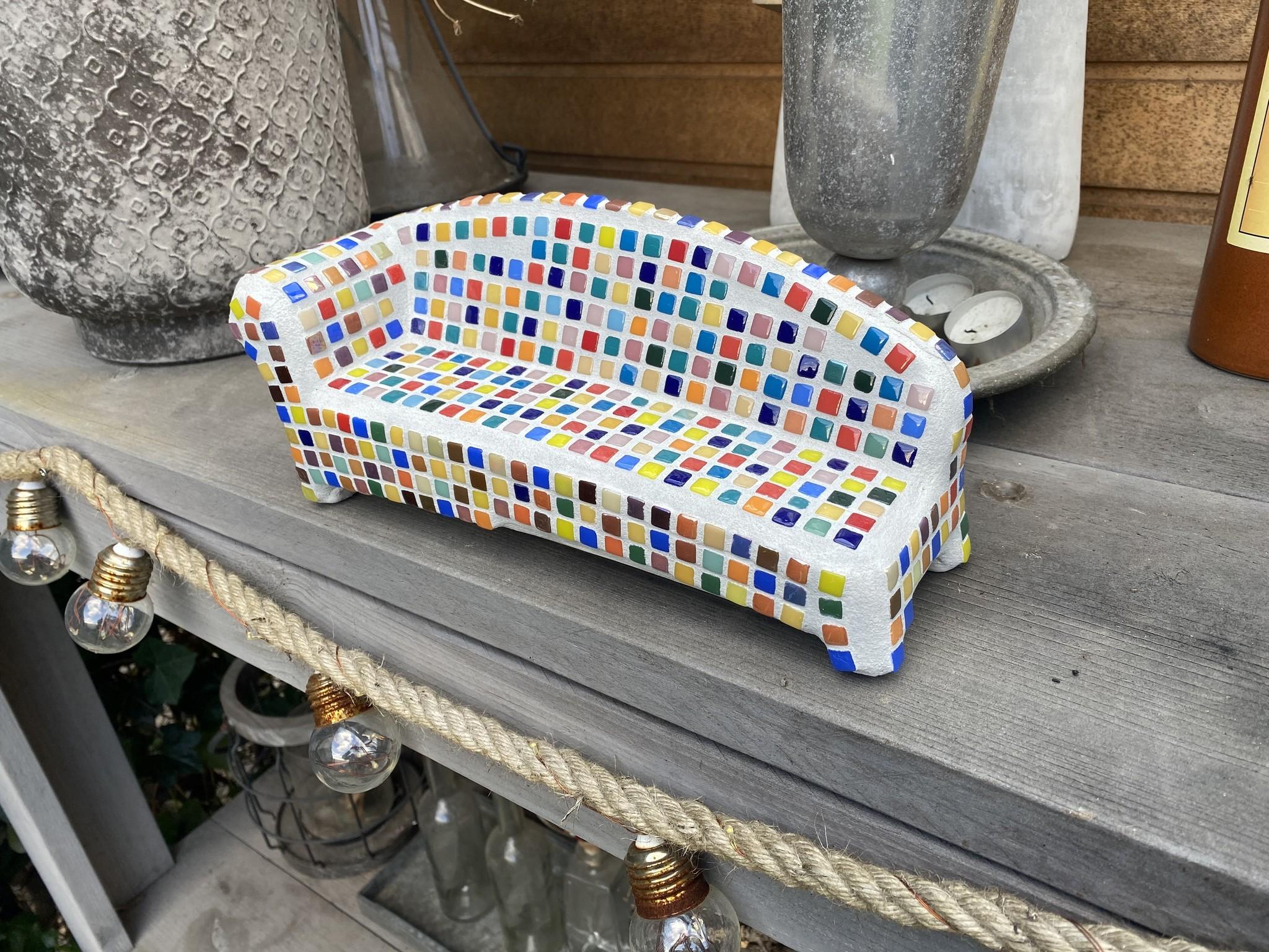 Mozaiek pakket Social Sofa Regenboog