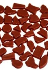 Kunststof mozaieksteentjes ca. 500 gram BRUIN