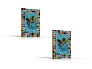 Mozaiekpakket set/2 Fotolijstjes Mozaiek