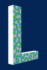Mozaiekpakket Letter L Fris