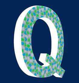 Design Fris, Letter Q