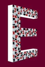 Mozaiekpakket Letter E Stoer