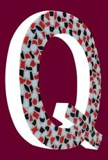 Mozaiekpakket Letter Q Stoer