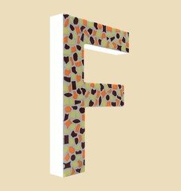 Design Warm, Letter F