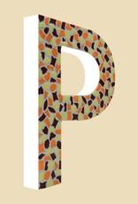 Mozaiekpakket Letter P Warm