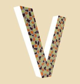 Design Warm, Letter V