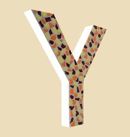 Design Warm, Letter Y