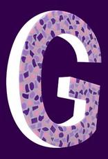 Mozaiekpakket Letter G Zacht