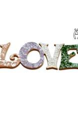 Love Qringle (paars-oranje-groen-wit)