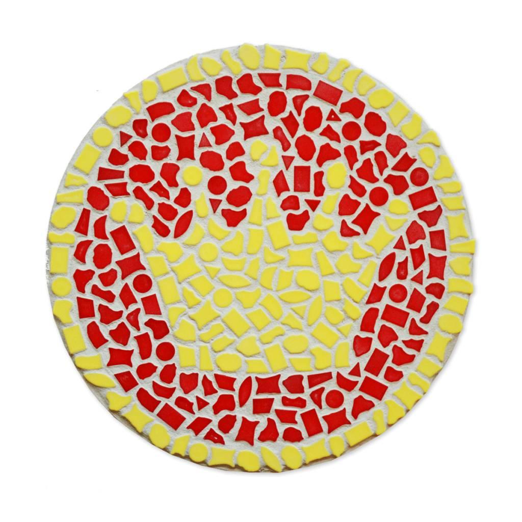 Mozaiekpakket Wandbord Kroon