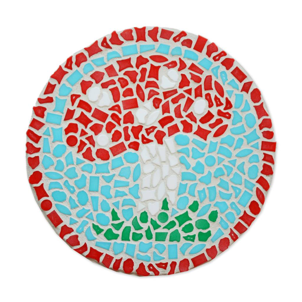 Mozaiekpakket Wandbord Paddenstoel