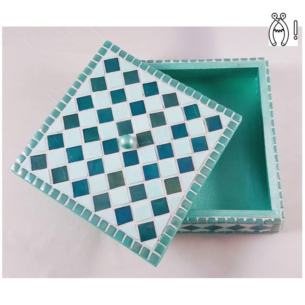 Sieradenkistje mozaiek pakket Fiesta Turquoise