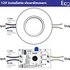 ECO-DIM.09 (W) Led vloerdimmer 0-50W wit