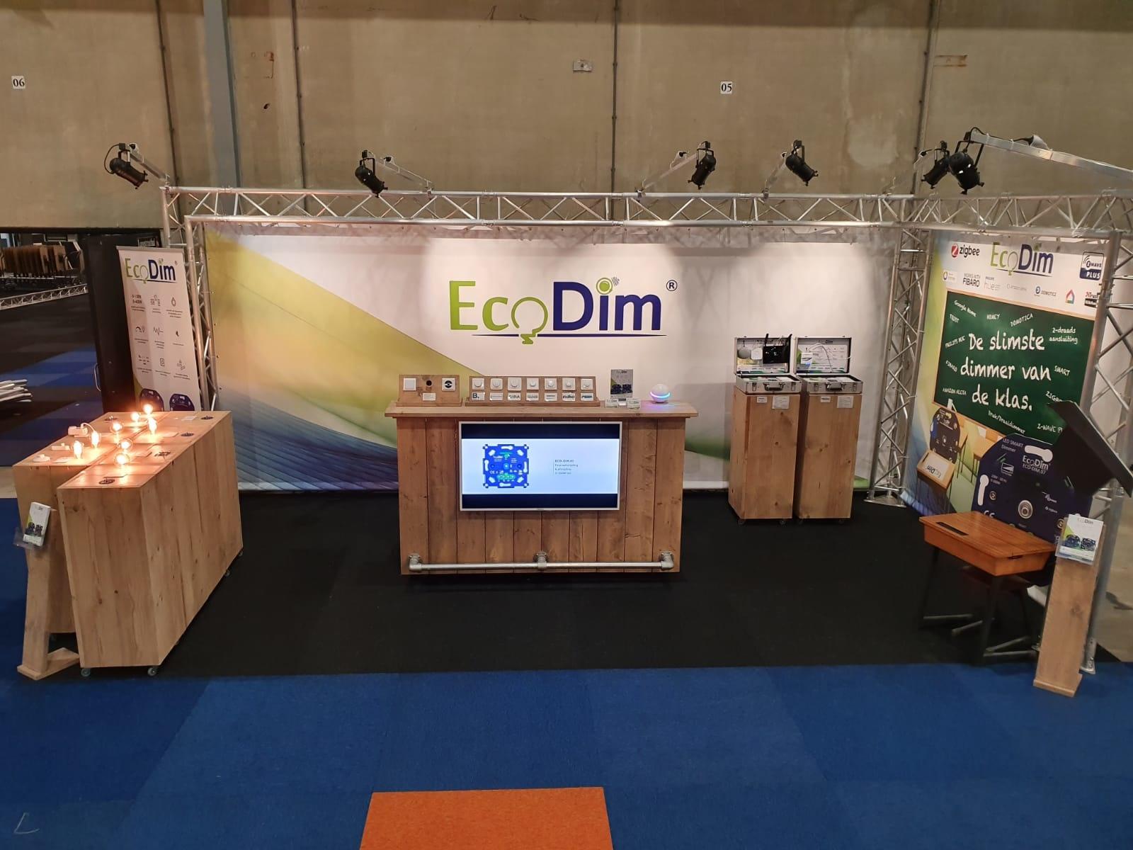 BEURSNIEUWS:  EcoDim staat op de LED + ELEKTRO beurs 2019