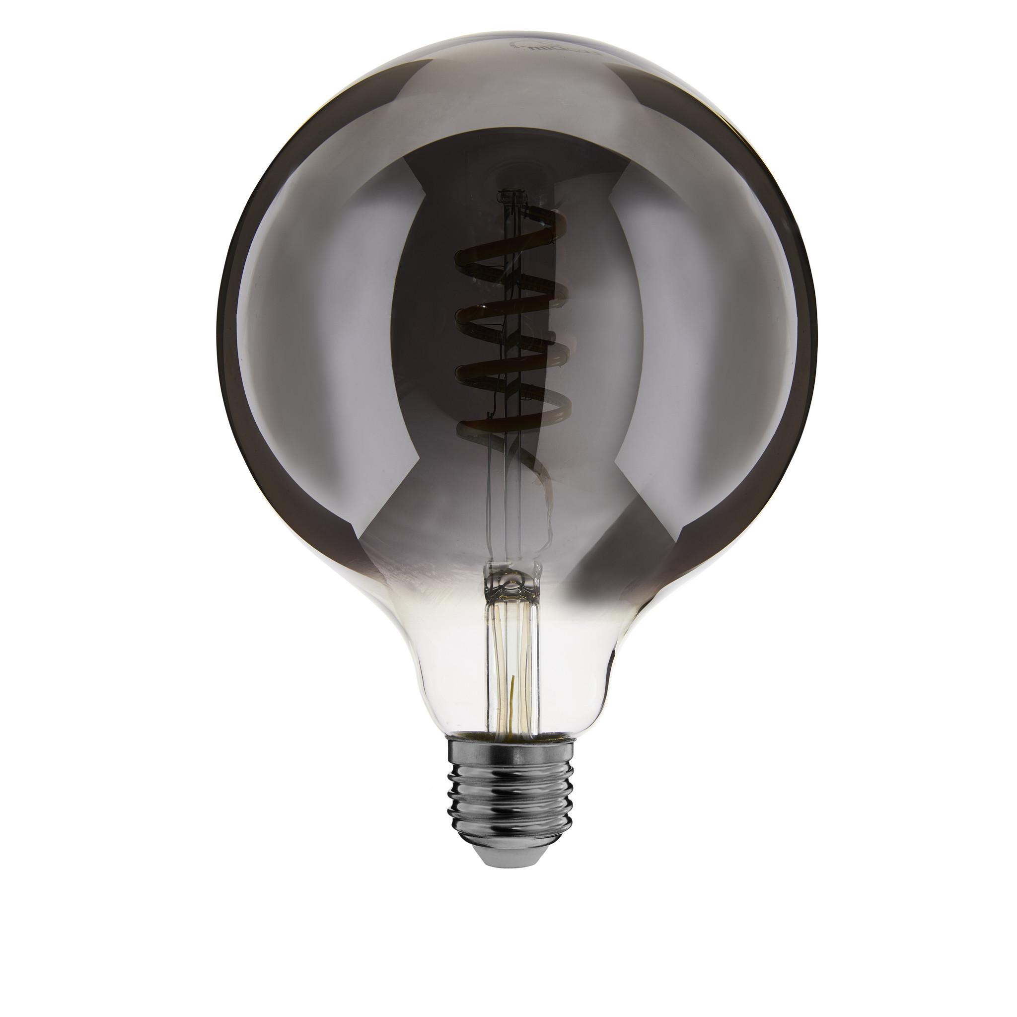 ED-10034 Zigbee led filament lamp dimbaar E27, globe G125, Smokey 1800K-5000K