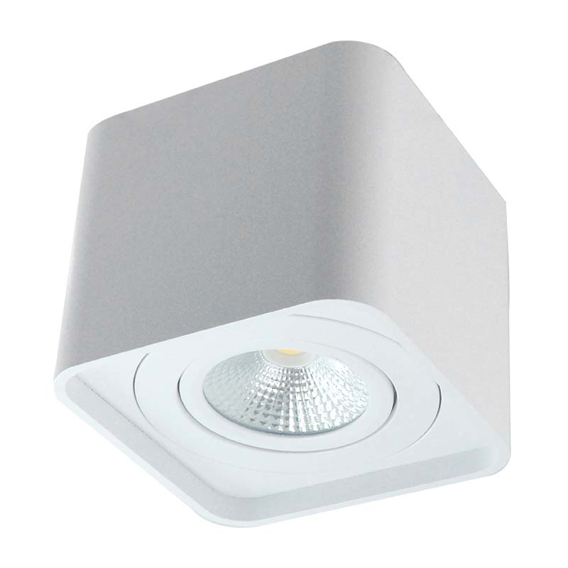 ED-10038 Opbouwspot armatuur vierkant wit