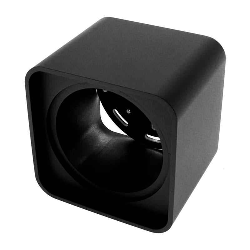 ED-10039 Opbouwspot armatuur vierkant zwart