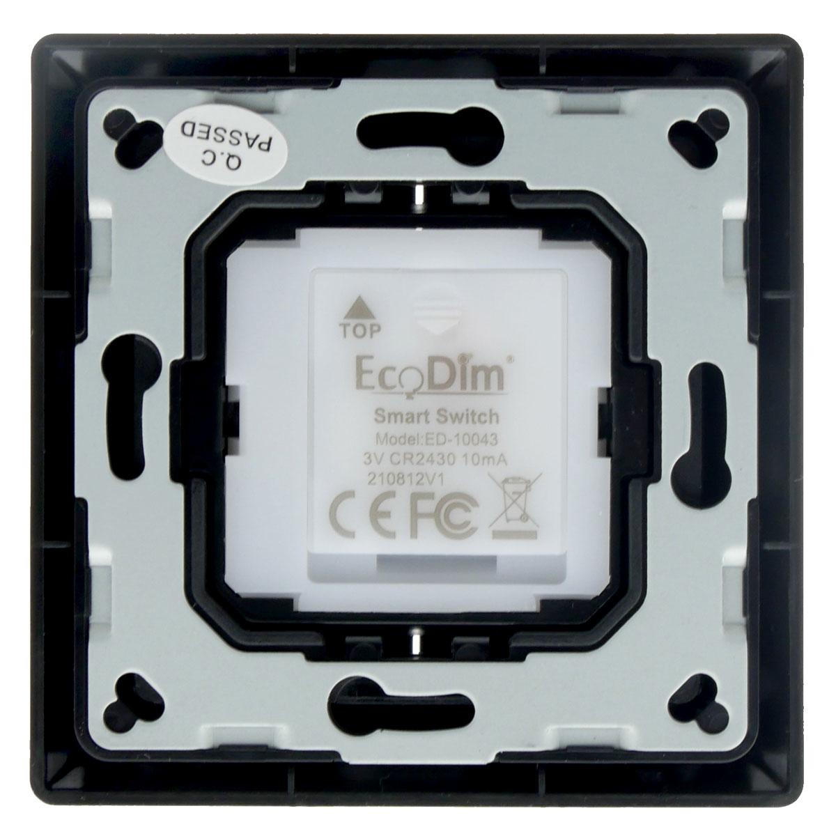 ED-10043 Draadloze schakelaar Zigbee zwart (Friends of Philips Hue)