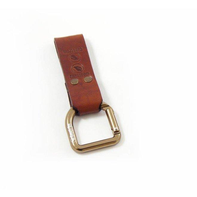 No.3 Dangler + belt loop - Cognacbruin