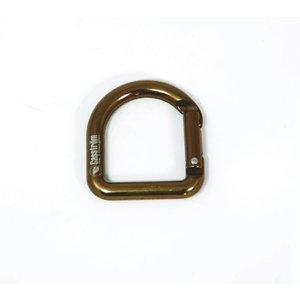 Casstrom D-Ring Karabiner  - koperkleur