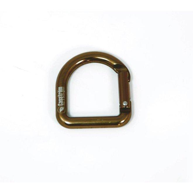 D-Ring Karabiner - koperkleur