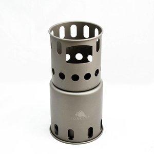 Toaks Titanium Backpacking Woodburning Stove - Small