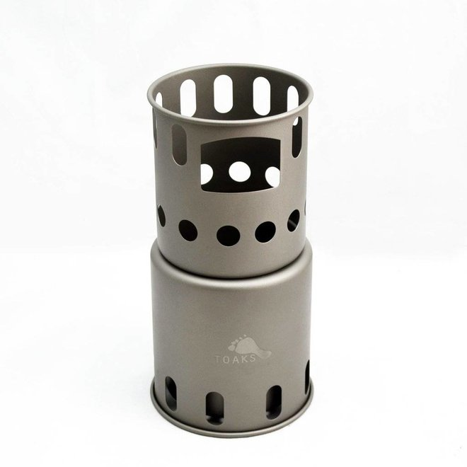 Titanium Backpacking Woodburning Stove - Small