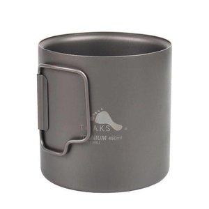 Toaks Titanium 450ml Mok -Dubbelwandig