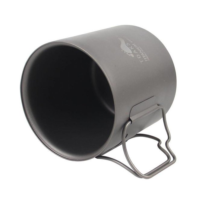 Titanium 450ml Mok -Dubbelwandig
