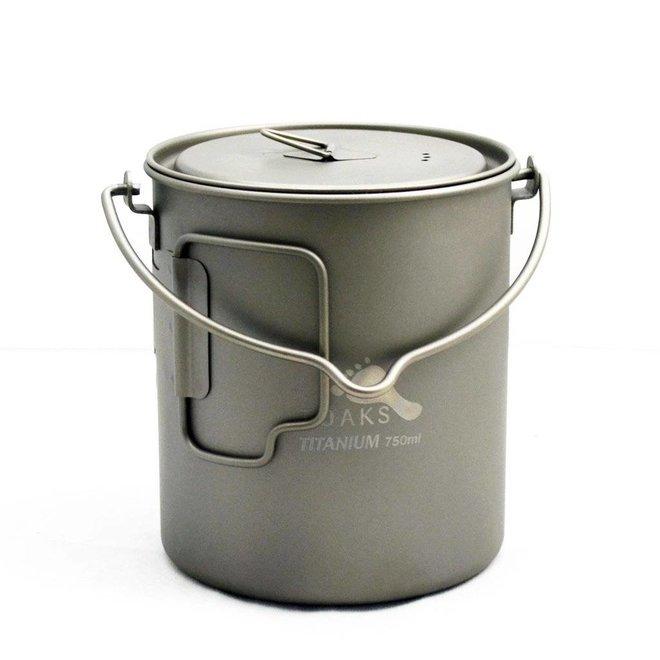 Titanium 750ml Pan - Met Hengsel