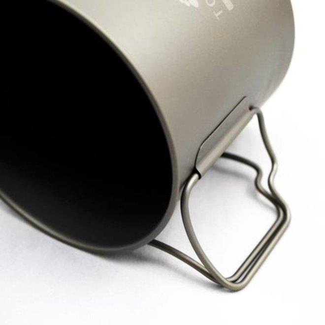 Titanium 650ml Pan - Ultralight