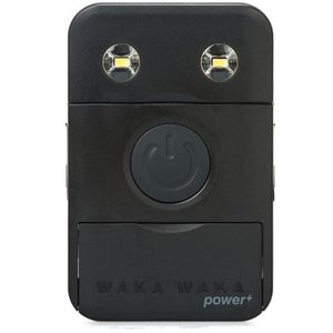 Waka Waka Power+ - Solar Lamp/Powerbank - Zwart