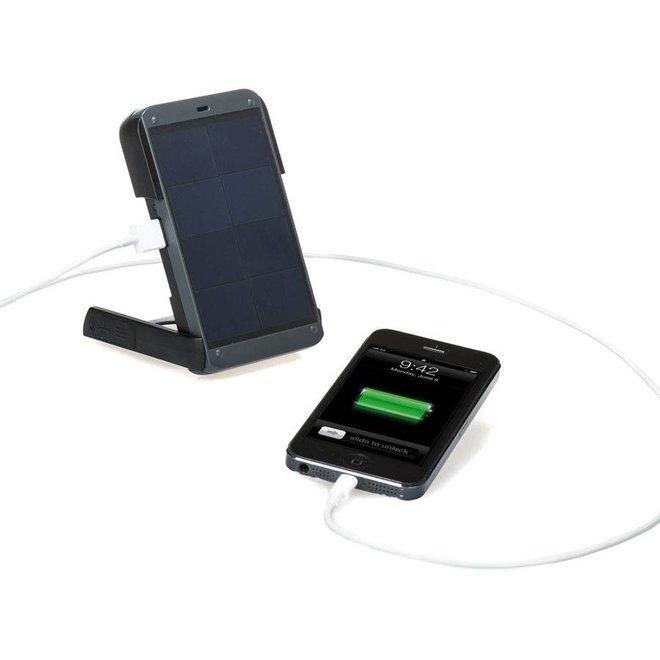 Power+ - Solar Lamp/Powerbank - Zwart