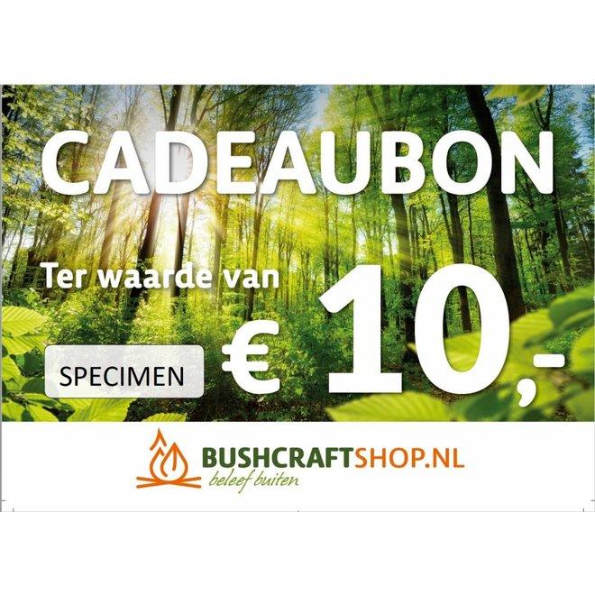Cadeaubon twv € 10,-