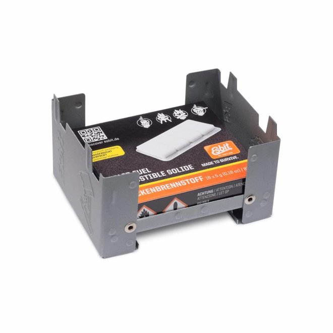 Pocket stove S + Solid Fuel 16x5 Gram