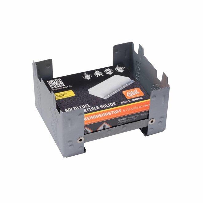 Kleine Inklapbare Brander + Solid Fuel 6x14 Gram
