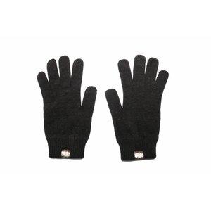 Weft Possum/Merino Handschoenen - Lange Vingers - Black Charcoal
