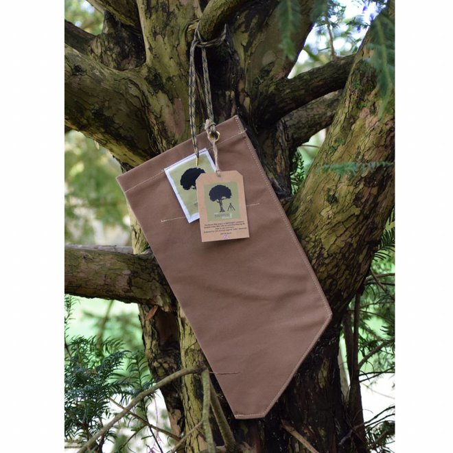 Personal Size Brown Filter Bag