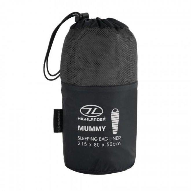 Mummy Slaapzak Liner - Zwart